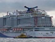 mardi gras carnival cruise line port of rotterdam