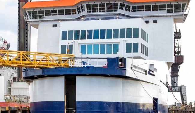 Ropax vessel pride of canterbury
