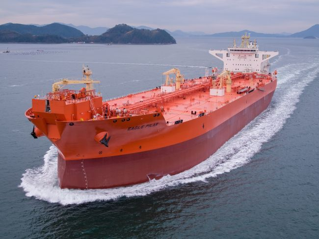 AET takes delivery of DP2 shuttle tanker Eagle Pilar