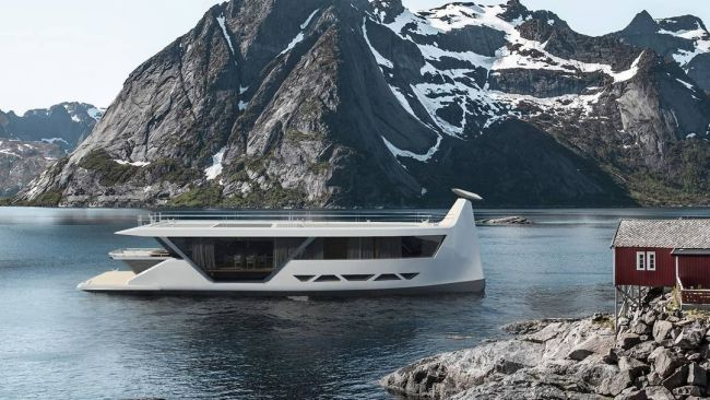 AI-Enabled, Smartphone-Controlled Self-Driving Superyacht
