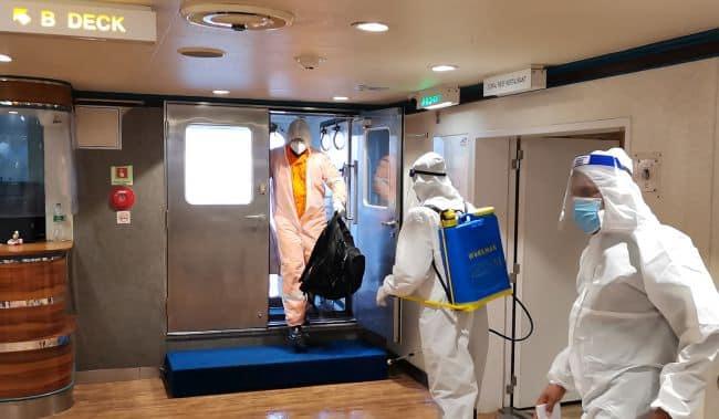 Angria - offshore crew change transit hub
