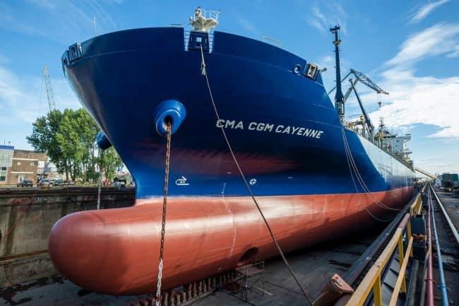 CMA CGM Africa One LR - Damen - 2