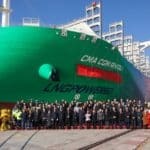 CMA CGM Receives Third 23,000 TEU Dual-Fuel LNG-Powered Container Ship