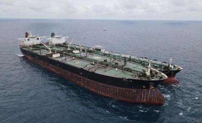 Coast Guard #Bakamla seized two tankers ( Iranian Flag of Iran MT Horse and Panama Flag of Panama MT Frea)