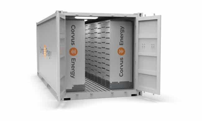 Corvus Energy Introduces Standardized ISO Footprint Containerized Battery Room Solutions