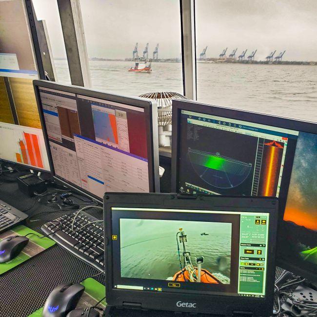 DEA Employs Sea Machines' Autonomy System To Survey Galveston Bay For NOAA