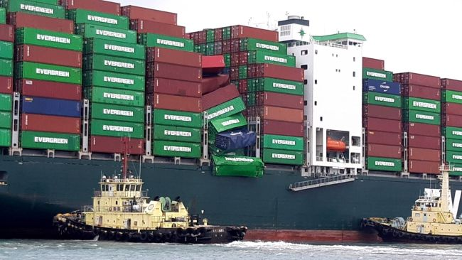 Ever Liberal - Evergreen container loss