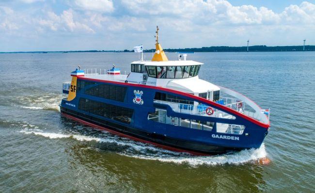 Gaarden - Holland Shipyards To Build Three Additional Hybrid Ferries For SFK