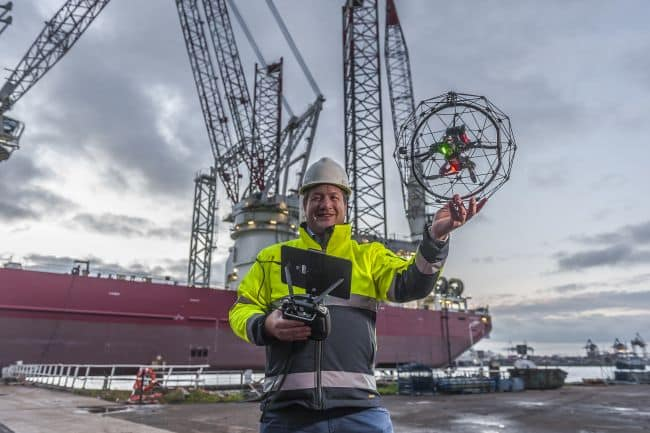 Global Drone Inspection To Take On Specialist Demand For Drone And ROV Services From RIMS BV
