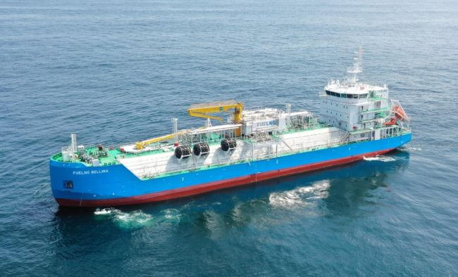 Keppel O&M - Singapore's First LNG-Bunkering Vessel - FueLNG Bellina