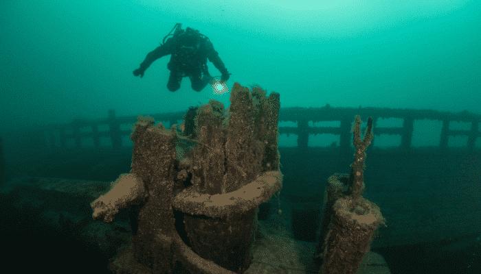 Le Griffon shipwreck