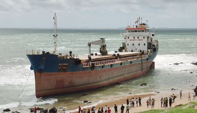 MV-Maa-Bangladeshi-Ship-Stuck-At-Vizag