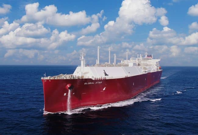 Nakilat takes delivery and management of LNG carrier newbuild Global Star