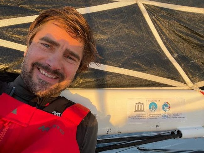 Rare Ocean Climate Data Transmitted Live From Seaexplorer During Vendée Globe Race - German skipper, Boris Herrmann