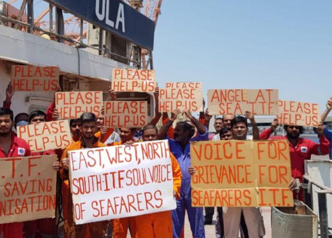 Seafarers On Hunger Strike, Hospitalised In Kuwait