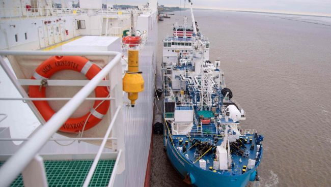 Siem Aristotle joins sister ship as the world's two largest Super-Eco, LNG powered PCTC-vessels