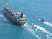 South Korean Flag of South Korea flagged Chemical Tanker HANKUK CHEMI detained by Iranian forces in the Straits of Hormuz while inbound to Fujairah
