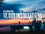 Inmarsat has passed the 10,000 Fleet Xpress installation milestone, coinciding with a doubling of average data use by ships since midpoint 2020.