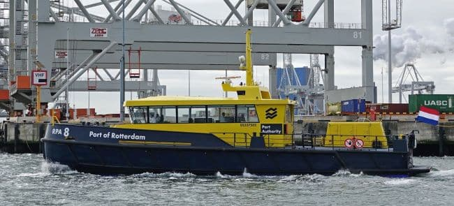 rpa 8 ect terminal haven rotterdam kees torn