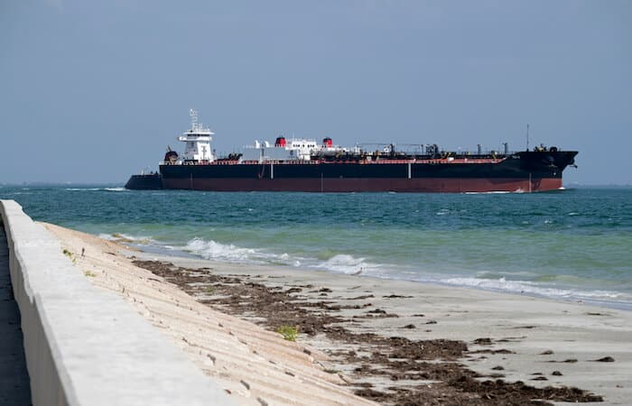 shipping in gulf of mexico