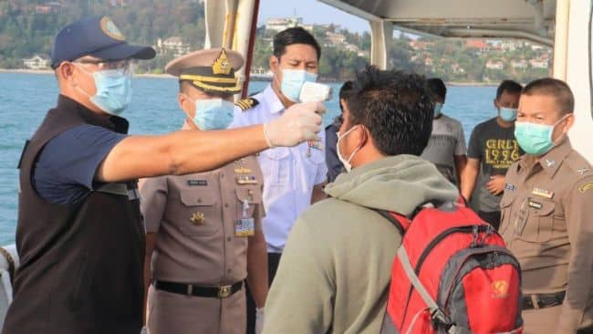 8 Seafarers Land In Phuket After Month