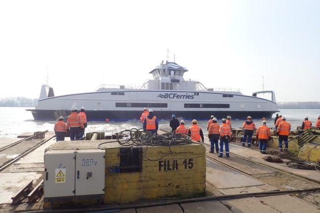 BC Ferries 5th hybrid electric