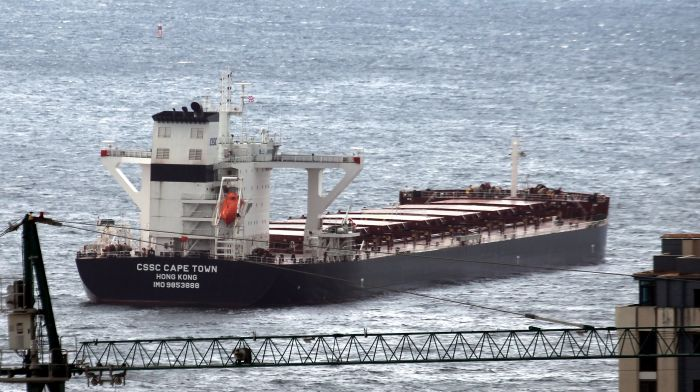 CSSC Cape Town - Coal Carrier Hong Kong