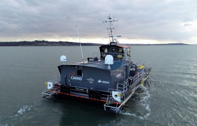 CWind Pioneer at Sea