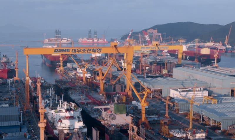 DSME south korea