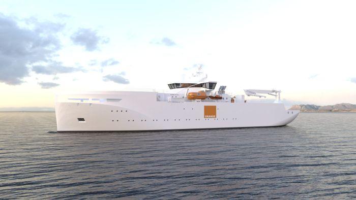 Design-illustration-of-VARD-9-03-Cable-repair-vessel-for-Orange-Marine-2021