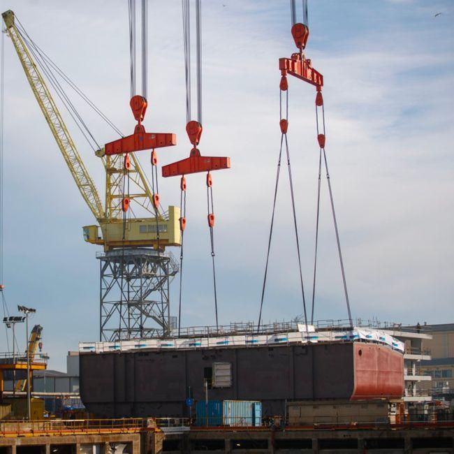 """Fincantieri Begins Dry Dock Works On """"Viking Mars"""""""