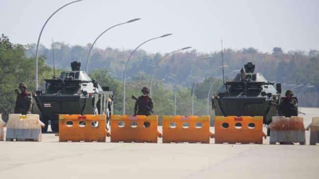 ITF Burmese Coup