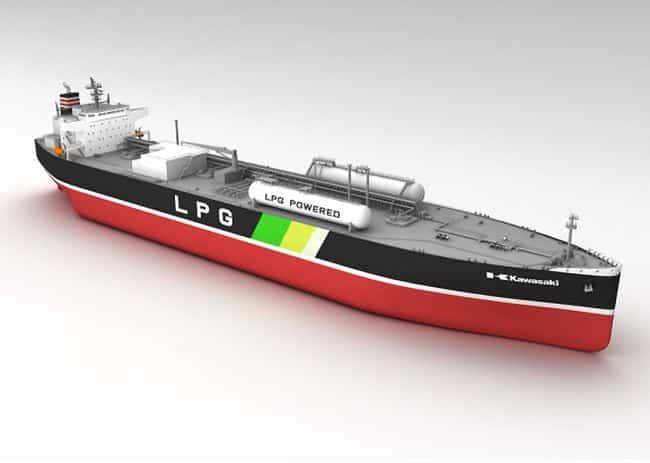 LPG dual-fueled VLGC