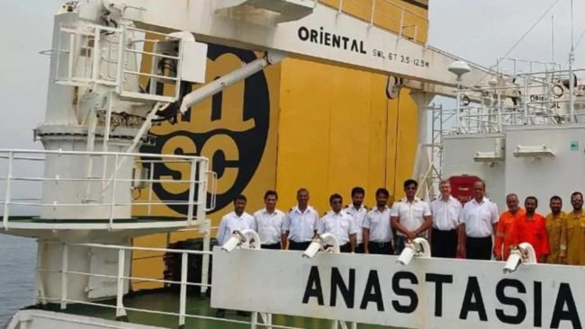 MSC MV Anastasia Crew
