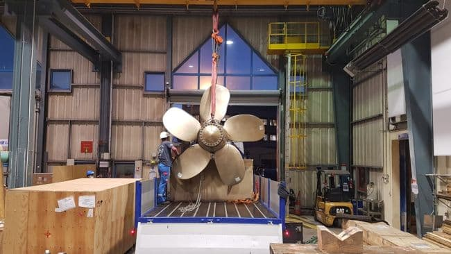 New Generation 3D Printed Propeller Certified By Bureau Veritas - Naval Grop