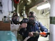 Orkney-Ferries-crew-members-completing-a-hydrogen-fire-safety-drill-640-Credit-Colin-Keldie-courtesy-of-HyDIME