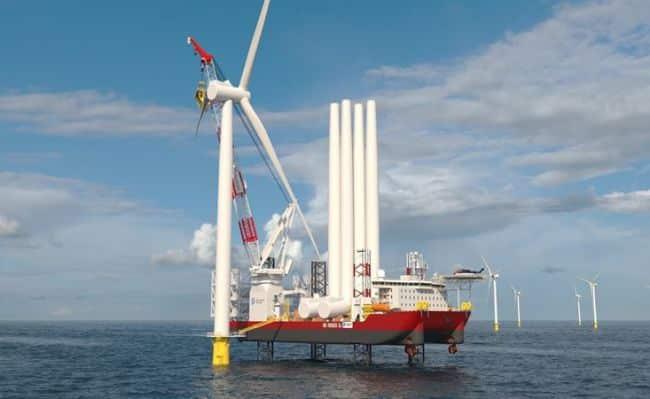 Vessel Will Support U.S. Windfarm Development