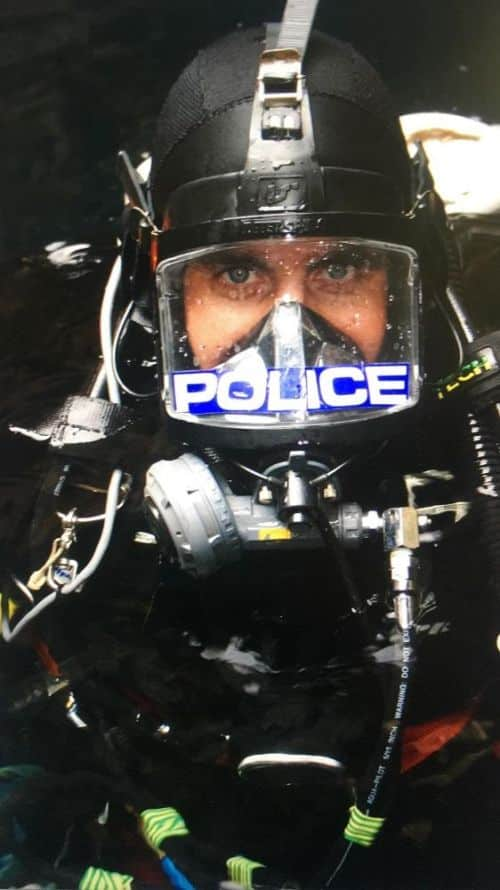 arc-mark-jacobs-diving - australian police saving maritime lives