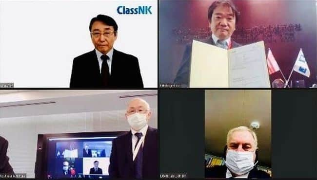 classnk Online Certificate Delivery Ceremony