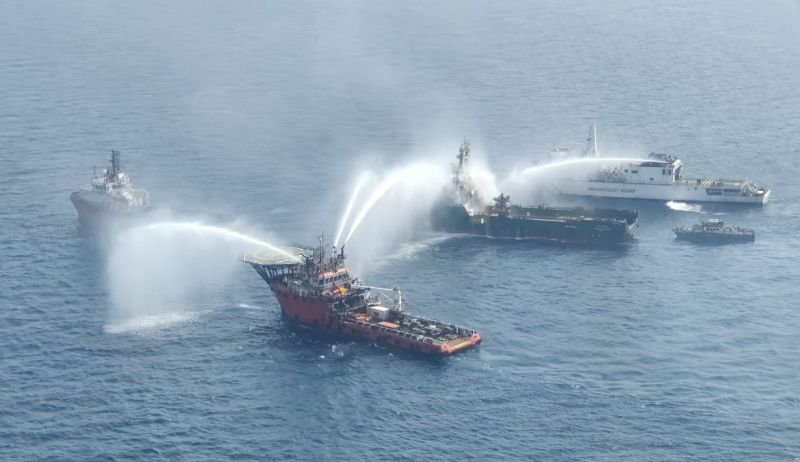 fire fighting offshore supply vessel