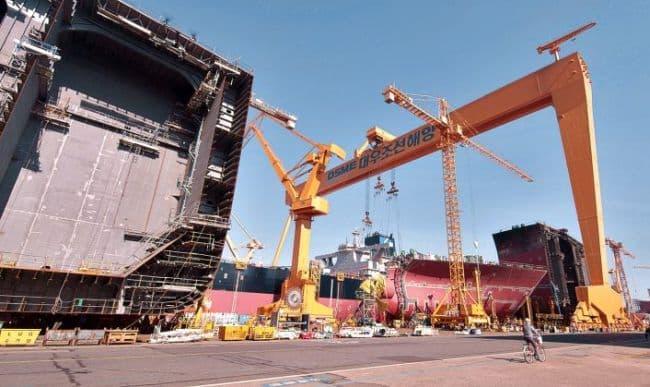 six LNGC, in build for Novatek at DSME, South Korea