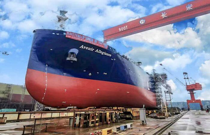 world's largest dual-purpose, LNG supply and bunkering vessel