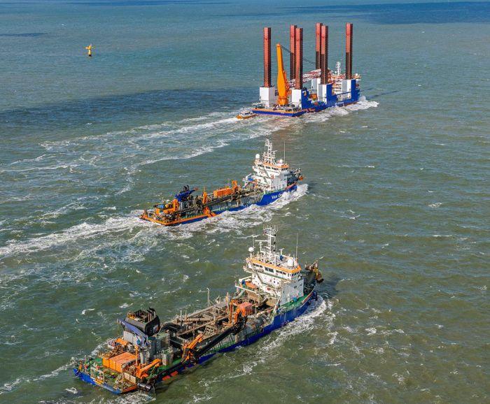 ABB Turbocharging will provide maintenance support and optimisation across Van Oord's dredger fleet
