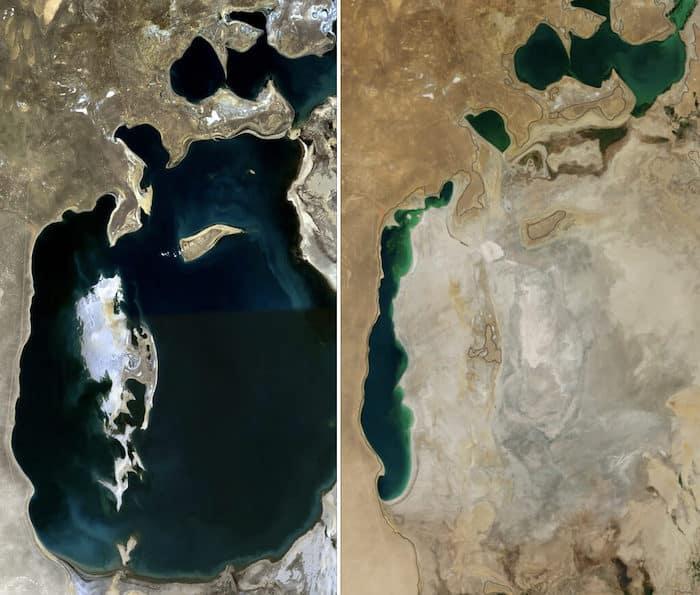 Aral Sea Location