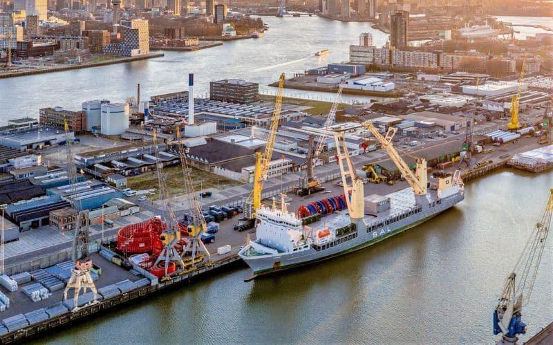 Breakbulk Europe in Rotterdam in 2022