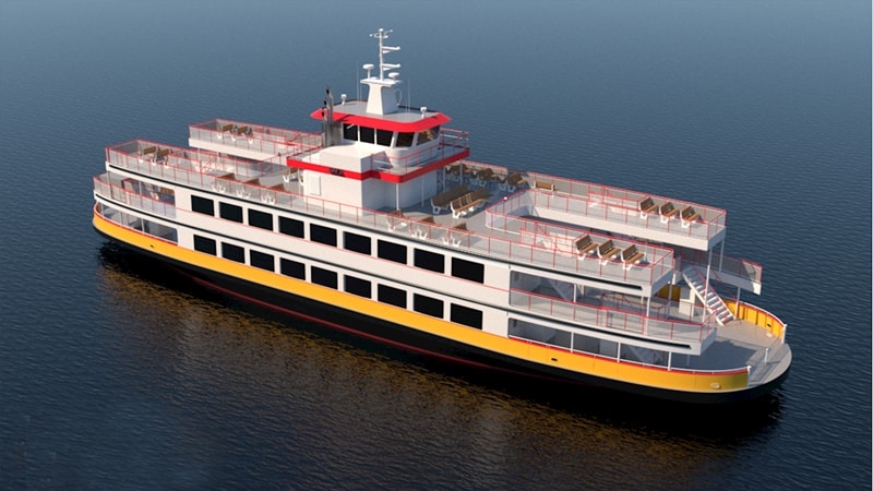 Casco Bay Lines new ferry will feature ABBs hybrid electric power and propulsion solutions