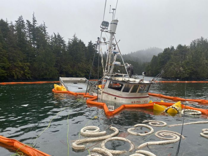 Coast Guard responds to diesel fuel discharge near Sitka, Alaska