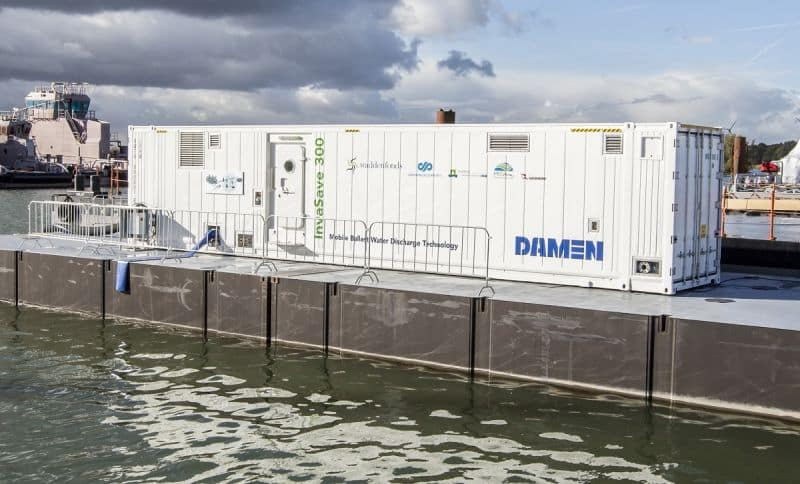 Damen InvaSave (LR) - Climate Investor Two Joins Damen To Fight Invasive Species In Ballast Water