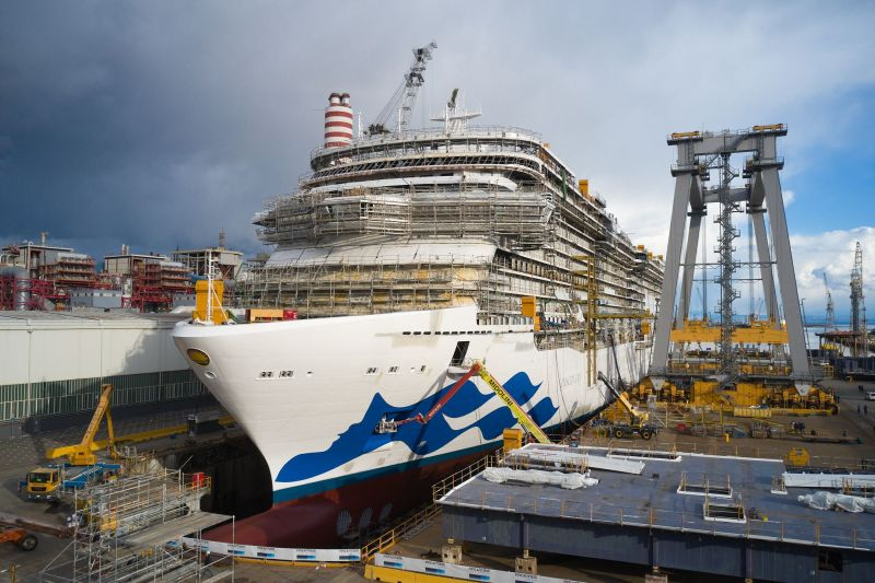 Discovery Princess, the sixth Royal-class ship built for the ship operator Princess Cruises