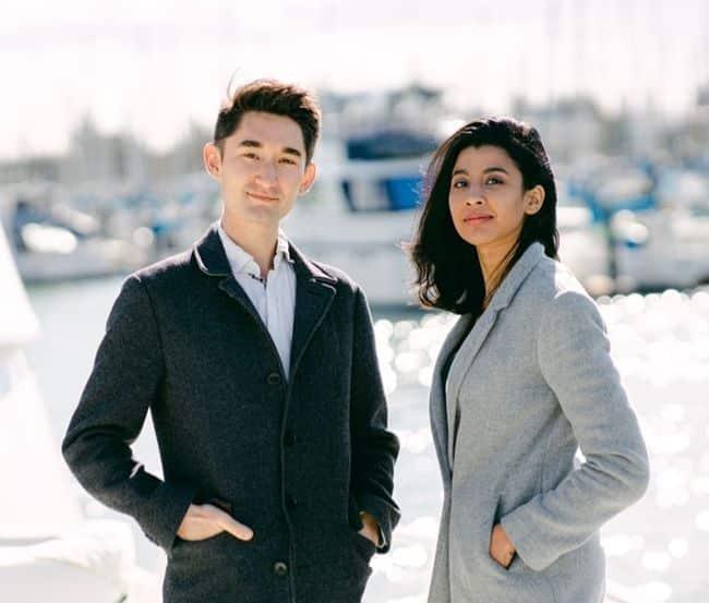 Founders (Reo Baird and Sampriti Bhattacharyya)